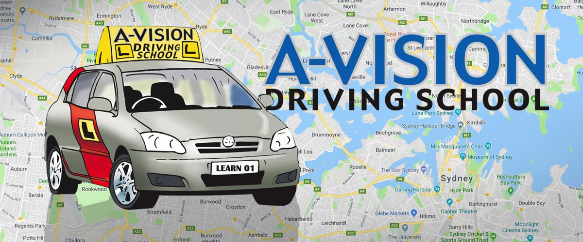 A-Vision Driving School.